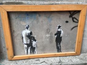 Banksy portrait
