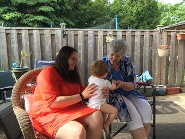 Meeting aunt Augusta