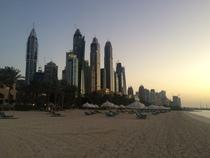 After - beach