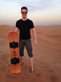 Me and the sandboard :P