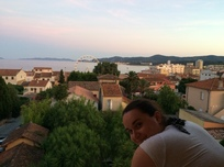 View over Lavandou