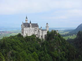 View on Neuschwanstein
