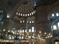 Blue Mosque (inside)