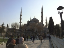 Blue Mosque (outside)