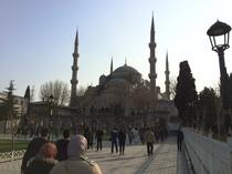 Blue Mosque (outside)