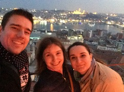 Selfie on Galata tower