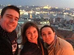 Selfie on Galata tower