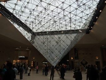 Louvre entrance