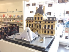 Louvre out of Lego :)