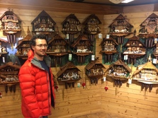 Lee with his collection