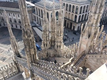 Milan cathedral (top 2)