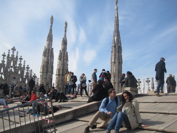 Milan cathedral (top 3)