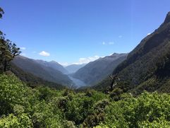 Doubtful Sound from the top