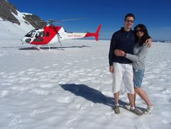 Us on the glacier