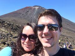 Tongariro selfie