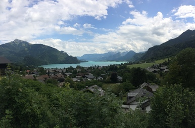 View on Wolfgangsee