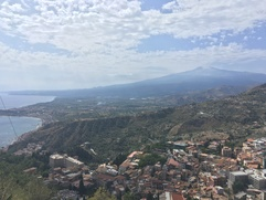 View on Mount Etna