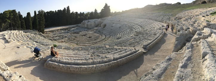 Amphitheater in Syracuse