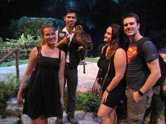 Us with an owl