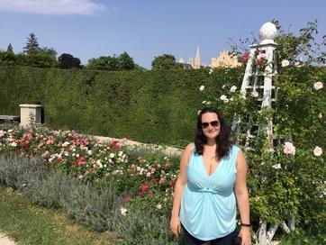 Lednice castle garden