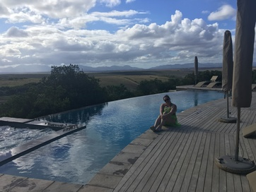 Pool at the Garden Route Game Lodge