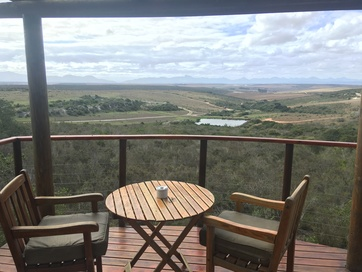 View from the Garden Route Game Lodge