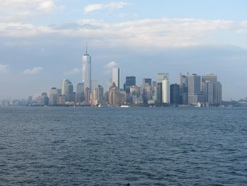 New York skyline by day