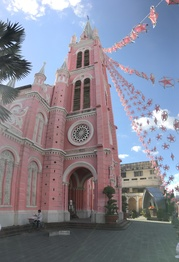 The Tan Dinh Church in Ho Chi Minh City